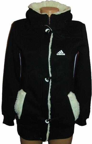 Женская спортивная кофта, длинная на байке 21012