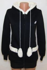 Фото Вся спортивная женская одежда Спортивная женская кофта, длинная на байке 21022