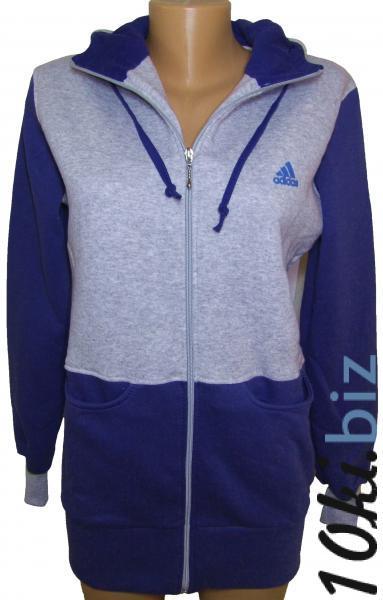 Кофта длинная на байке 21082  (васильковая) купить в Воронеже - Спортивные кофты, толстовки, куртки женские