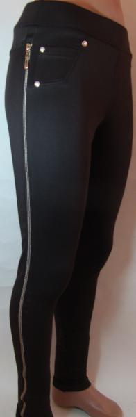 Леггинсы женские , молодежные 22101 (черные и коричневые)