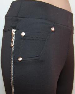 Фото Лосины и леггинсы Леггинсы женские , молодежные 22101 (черные и коричневые)