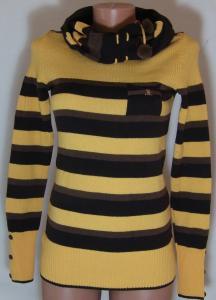 Фото Женский трикотаж (платья, кофты, туники) Кофта с шарфом 23013 (только 44,46 и 48р) (цвет ярче чем на фото,более насыщен)