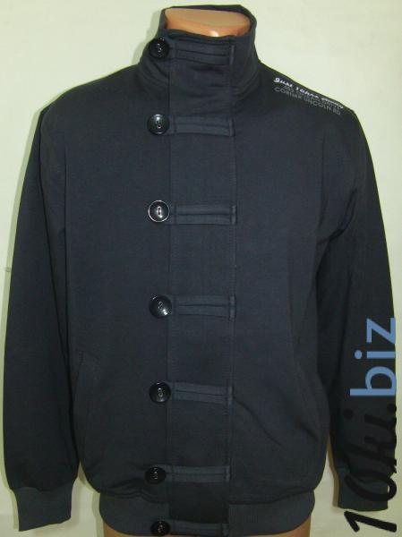 Кофта Мужская 11017 (тёмно-серая) (только 48, 50, 52р) купить в Воронеже - Мужские свитера кардиганы