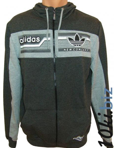 Кофта с капюшоном 11019 (только М,Л,ХЛ) купить в Воронеже - Мужская спортивная одежда