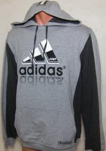 Фото Вся спортивная мужская одежда Кофта с капюшоном 11027 (только ХХЛ)