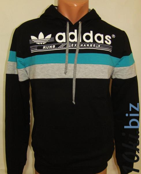 Спортивная мужская кофта с капюшоном 11031 (только Л и ХЛ) Мужская спортивная одежда в России