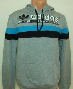 Фото Вся спортивная мужская одежда Спортивная мужская кофта с капюшоном 11034 (только ХЛ)