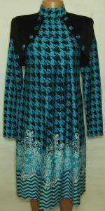 Фото Женский трикотаж (платья, кофты, туники) Платье женское 23017 (только 46р.)