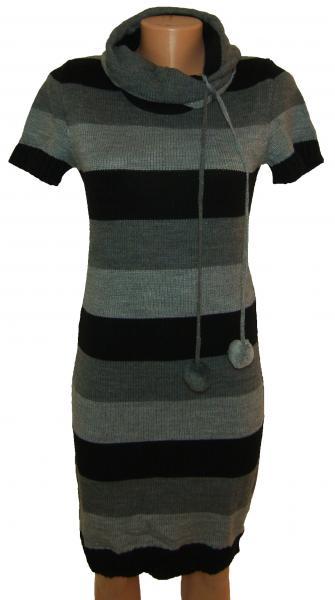 Платье молодежное трикотажное 23021 (только 46 и 48р)