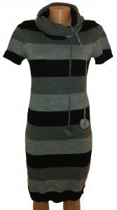 Фото Женский трикотаж (платья, кофты, туники) Платье молодежное трикотажное 23021 (только 46 и 48р)
