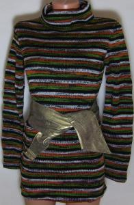 Фото Женский трикотаж (платья, кофты, туники) Женская кофта с поясом 23023 (44/48р)