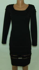 Фото Женский трикотаж (платья, кофты, туники) Платье трикотажное 23033 (размер 42)(слева на груди -цветок)