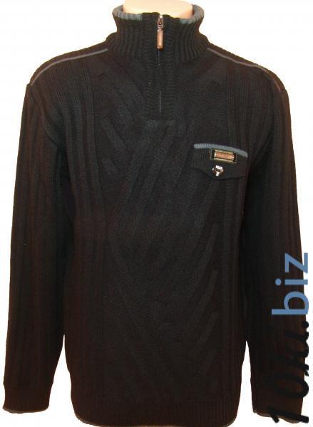 Мужской зимний свитер 12014 (чёрный) купить в Воронеже - Женская трикотажная одежда