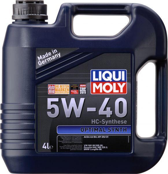 LIQUI MOLY 5w40  Optimal  Synth HC синт. 1л