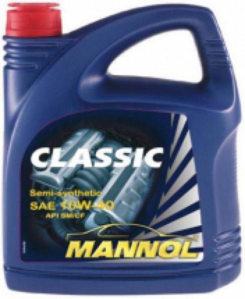 MANNOL классик 4л, 10W40, п/синт.