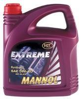 MANNOL экстрем 1л, 5W40, синт.