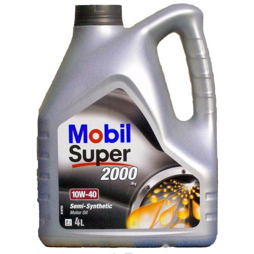 MOBIL SUPER 2000 10W40 п/синт. 1л