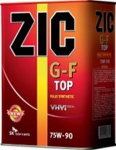 Фото Масла трансмиссионные    ZIC G-F T 75w90 GL-4 4л.