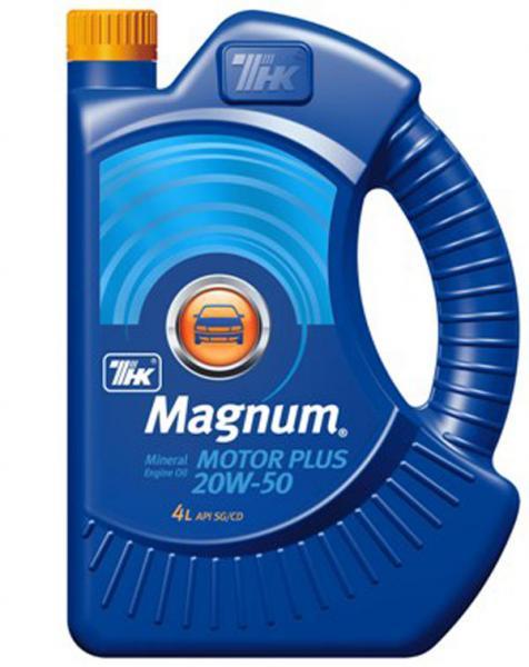 ТНК Magnum Motor Plus 20W50 мин.4л