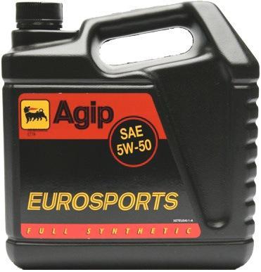 AGIP EUROSPORTS 5W50 4л синт.