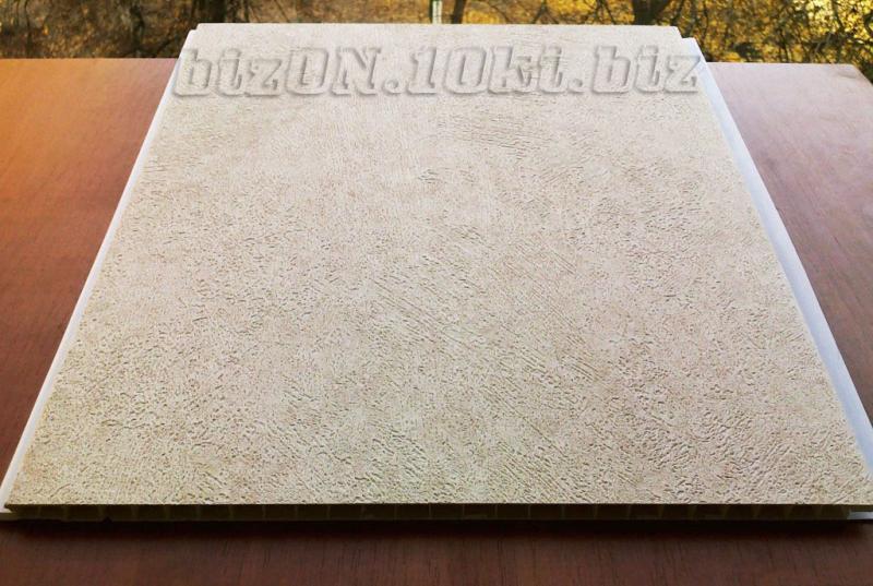 Фото Панели  ПВХ ламинированные  «DECOMAX» «Интонако Крема»   (Арт.УД6) Ламинированные пластиковые панели ПВХ