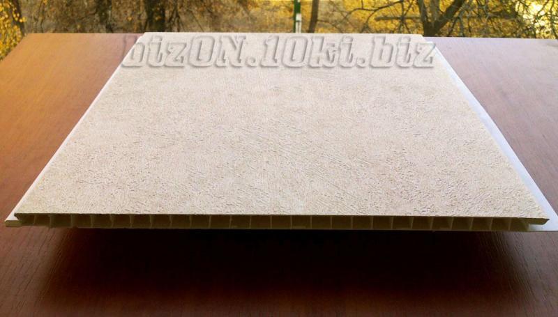 Фото Панели ПВХ ламинированные «Интонако Крема»   Ламинированные  пластиковые панели ПВХ   «DECOMAX»