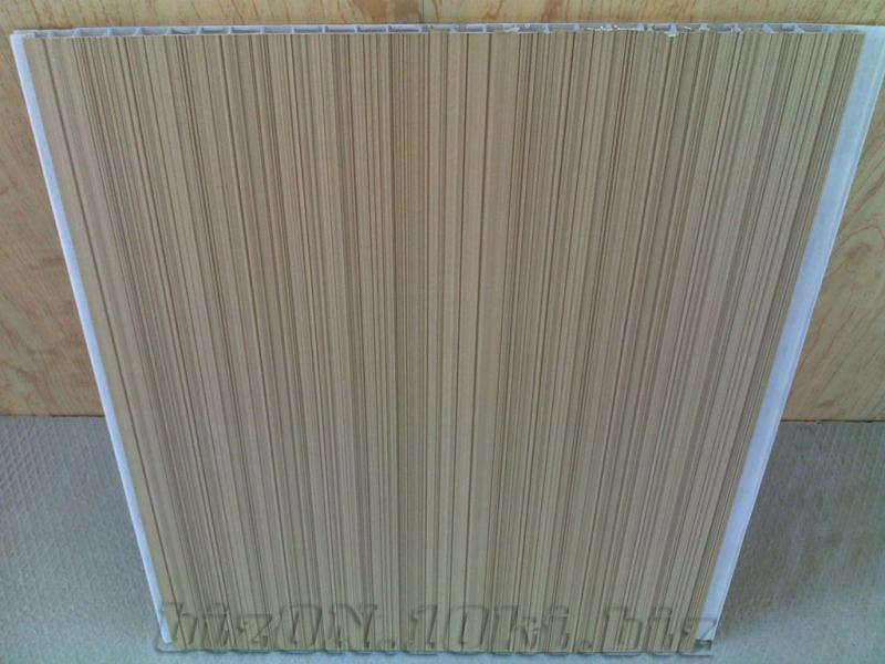 Фото Панели ПВХ «Капучино Рипс»   Ламинированные  пластиковые панели ПВХ   «DECOMAX»