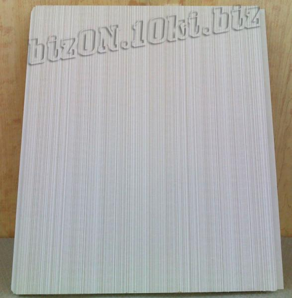 Фото Панели  ПВХ ламинированные  «DECOMAX» «Грей Рипс»   (Арт. УД4) Ламинированные пластиковые панели ПВХ