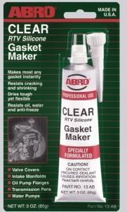 Герметик-прокладка ABRO прозрачная