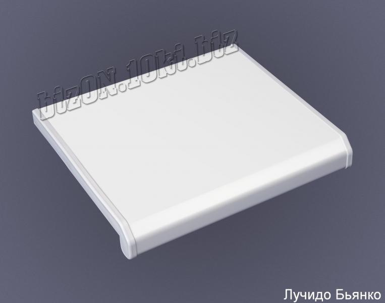 Подоконник  «DANKE»  «Lucido Bianco»  (Лучидо Бьянко) – белый глянец    (Арт. Е2)