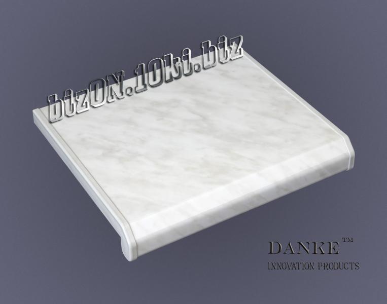 Подоконник  «DANKE»  «Marmor Classico»  (Мармор Классико) – серый мрамор   (Арт.Е3)