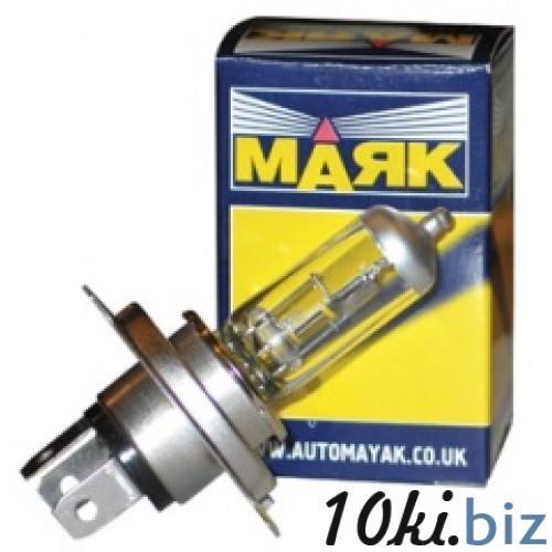 Лампа галоген. 12В H4 60/55 P43 2108 МАЯК 52420 Лампочки для световых приборов автомобиля в России