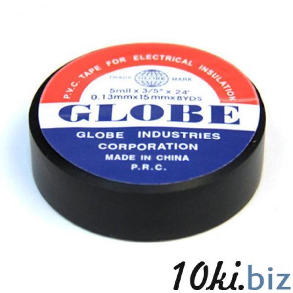 Изолента GLOBE 19мм-20yds черная Электроизоляционные ленты в России