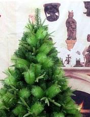 Ёлка зелёная 120 см три вида листьев
