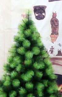 Ёлка зелёная 120 см со светлыми кончиками