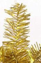 Фото Разноцветные ёлки Ёлка золотая 90 см