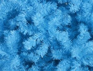 Фото Синие елки - символ наступающего года Ёлка небесно-голубая 1,2 м