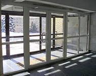 Автоматические входные, раздвижные двери