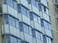 Остекление фасадов зданий и сооружений