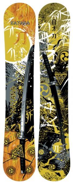 Сноуборд Black Fire 2013-14 Katana