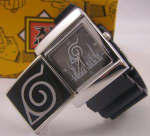 Фото Часы Часы с эмблемой Конохи электронные