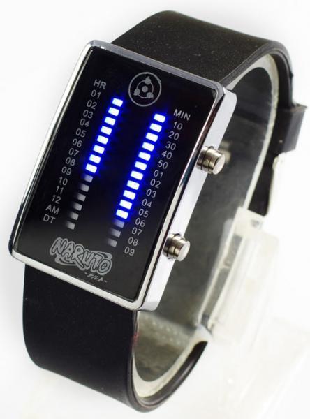 Часы с изображением Шарингана бинарные