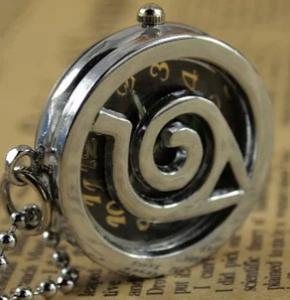 Фото Часы Часы с эмблемой Конохи карманные
