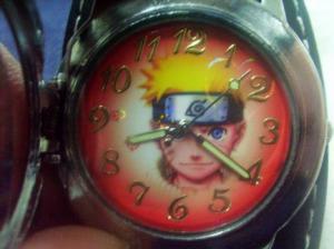 Фото Часы Часы с объемной эмблемой Конохи наручные