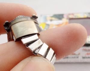 Фото Часы Часы - кольцо с эмблемой Конохи