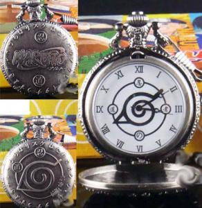 Фото Часы Часы с эмблемой Конохи карманные винтаж