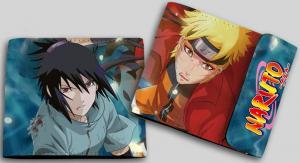 Фото Кошельки Бумажник с двойным изображением (Наруто и Саске)