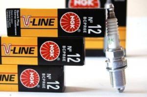 Фото Свечи,лампы, предохранители   Свечи NGK V-Line №12 BCPR6E ВАЗ 10-12, инж.,16-клап. 4 шт.