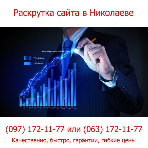 Раскрутка сайта в Николаеве