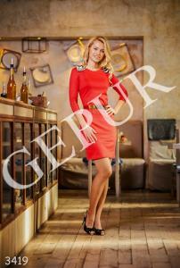 Фото УКРАИНА, Короткие платья 3419 / 3420